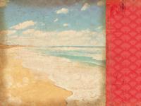 Tropicana 12x12 Scrapbook Paper - Horizon